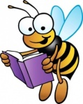 bee and book